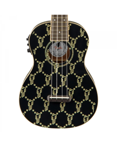 Fender Billie Eilish Acoustic Electric Ukulele Black