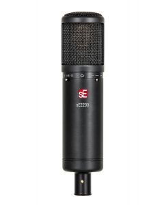 SE SE2200 Large Diaphram Cardiod Condenser Mic with Shockmount and Filter