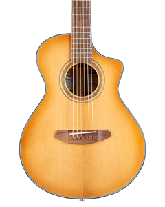 Breedlove Signature Companion Copper CE Acoustic Electric Guitar. Torrefied European-African Mahogany TGF11