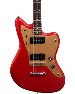 Squier Deluxe Jazzmaster ST Electric Guitar Candy Apple Red TGF33