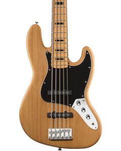 Squier Vintage Modified Jazz V Bass Natural TGF33