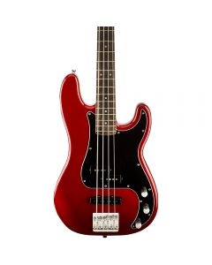 Squier Vintage Modified Precision Bass PJ Candy Apple Red Indian Laurel Fretboard TGF11