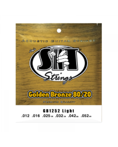 SIT Strings Golden Bronze 80/20 Light Strings (12-52)