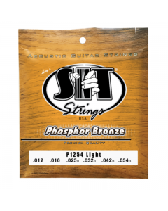 SIT Strings  Light Phosphor Bronze Acoustic Guitar Strings (12-54)