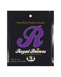 SIT Royal Bronze 12 String Light Acoustic Guitar Strings 10-46