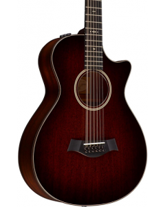 Taylor 562ce Grand Concert 12-string Acoustic-Electric Guitar Medium Brown Stain