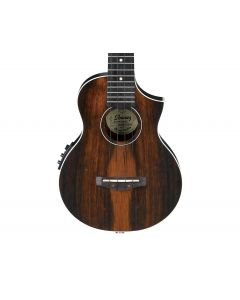 Ibanez UEW13MEEDBO Acoustic-Electric Ukulele Dark Brown Open Pore