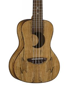 Luna Crescent Spalt Maple Concert Ukulele w/Bag