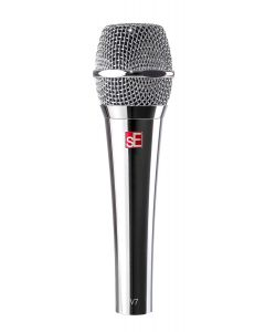 SE V7-CHROME Studio Grade Handheld Microphone Supercardioid. Chrome