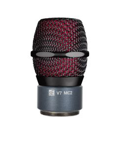 SE V7-MC2-BLK-BLU V7 Mic Capsule for Sennheiser Wireless. Black and Blue