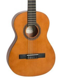 Valencia VC203 200 Series 3/4 Size Classical Guitar. Antique Natural Finish