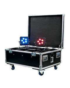 American DJ WIF812 WI Flight Case Hold 8 Wifly Series Pars