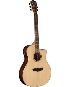 Washburn WLO20SCE Woodline 20 Series Orchestra Cutaway Acoustic Electric Guitar
