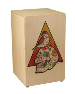 Remo CJ-6220-00-AB001 Artbeat Artist Collection Cajon. Jose Pasillas Revere