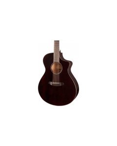 Breedlove Discovery Concert Ce Black Widow Acoustic-Electric Guitar Black Widow TGF11