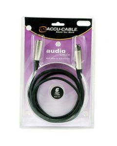 American DJ XL6 6' Microphone Cable