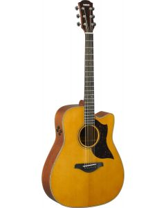 Yamaha A3M-VN Dreadnought Cutaway Acoustic-electric Guitar Vintage Natural