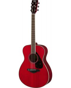 Yamaha FS820-RR Small Body Acoustic Guitar Ruby Red